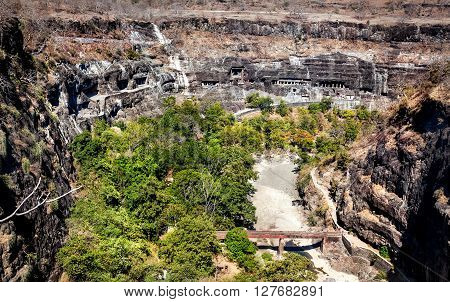 Ajanta Caves In India