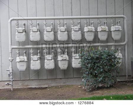 Rows Of Meters