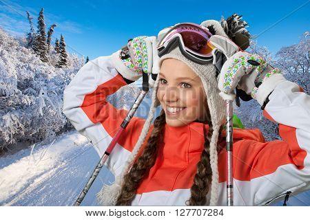 Cross-country Skiing.