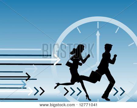 Rush Hour - Vektor