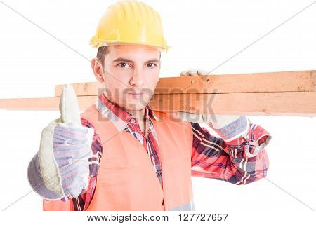 Constructor Carrying Woods