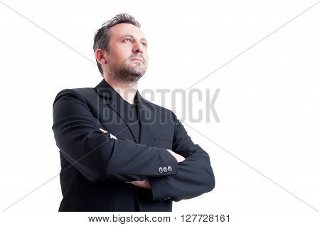Confident And Visionary Business Man