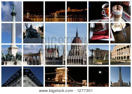 Fabulous Budapest Collage