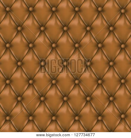 Vector Leather background with buttons. Luxury background.. Leather background. Leather background. Vector illustration of r leather background. Vector leather texture. Leather texture.