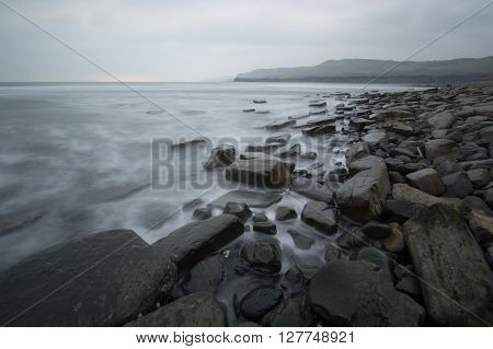 Muted Colours at Kimmeridge Bay, Dorset, England