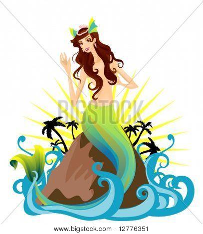 Mermaid - Vector