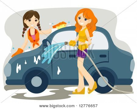 Car Wash - Vector