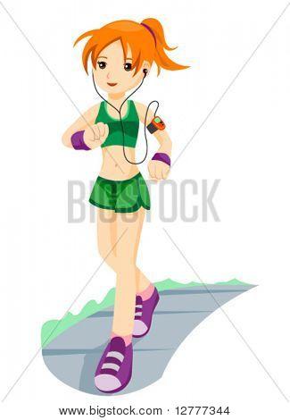 Jogging - Vector