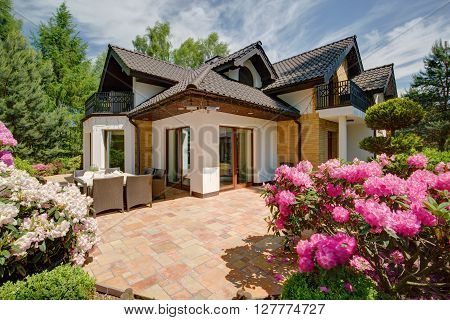 Beautiful Porch Of The House