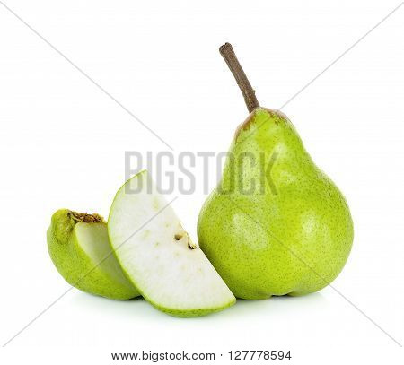 Pear Isolated On A White Background