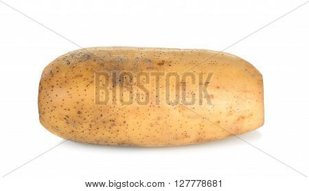 Lotus Root Isolated On The White Background