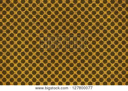 Golden Revetment Wall Putty Macro Texture Background Rounds Styled
