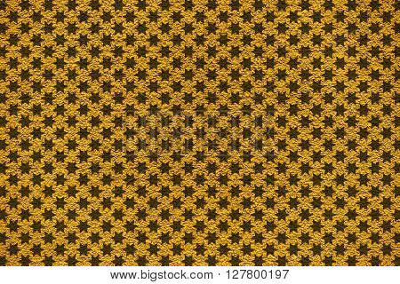 Golden Revetment Wall Putty Macro Texture Background Stars Styled