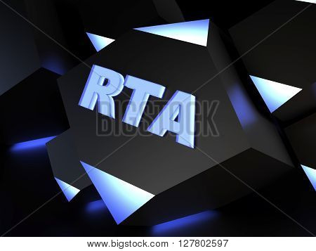 RTA - Real Time Advertising - computer generated image (3D render)