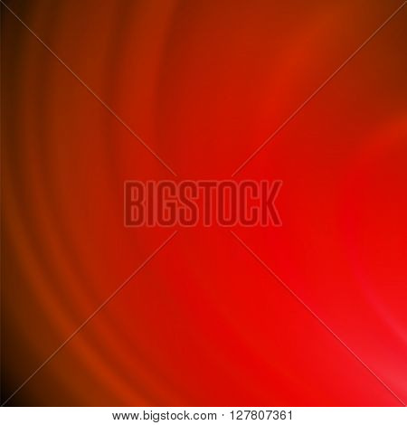 Abstract Red Wave Background. Blurred Red Pattern.