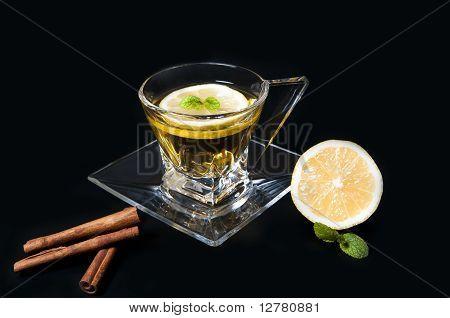 Tea with cinnamon