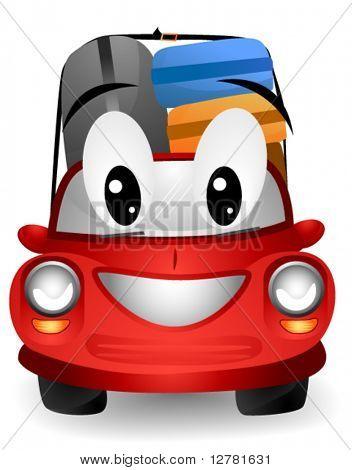 Car Travel - Vector