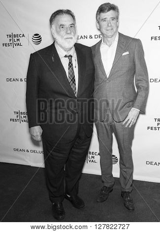2016 Tribeca - Tribeca Talks Storytellers - Francis Ford Coppola With Jay Mcinerney
