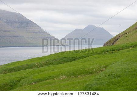 Landscape On The Faroe Islands