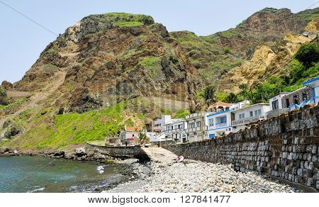 Homes In Faja D'agua With Ramp Leading To The Rocky