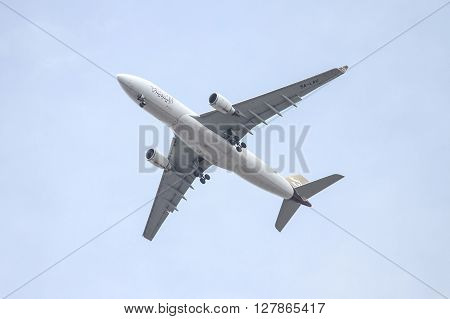 Libyan Airlines Airplane