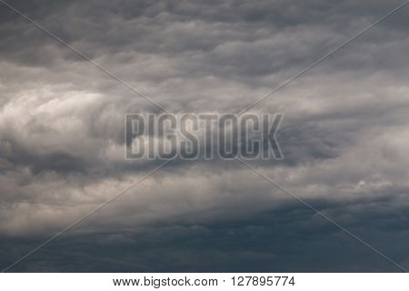 Abstract image of dark clouds before rain