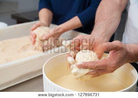 The Making Of Sicilian Arancini