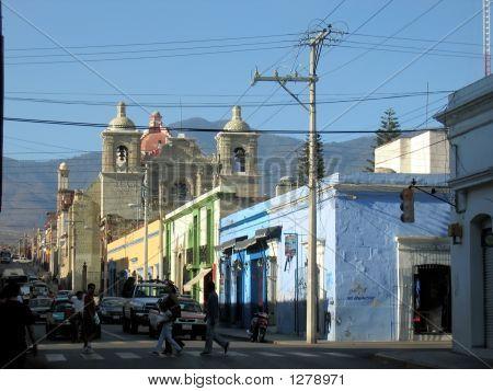 City Street Life - Oaxaca - Mexico