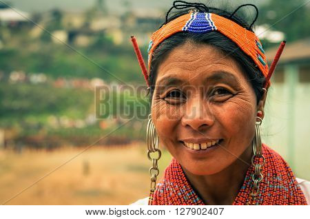 Woman With Headband