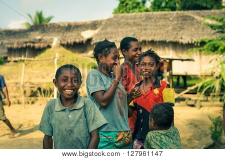 Children With Joyful Smiles