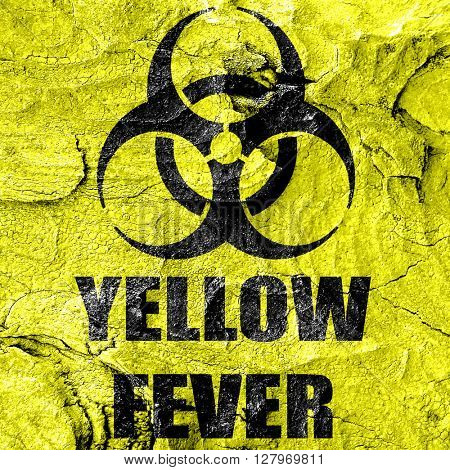 yellow fever concept background