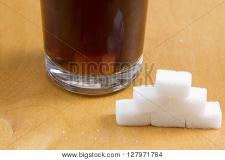 Added sugar in fizzy drinks