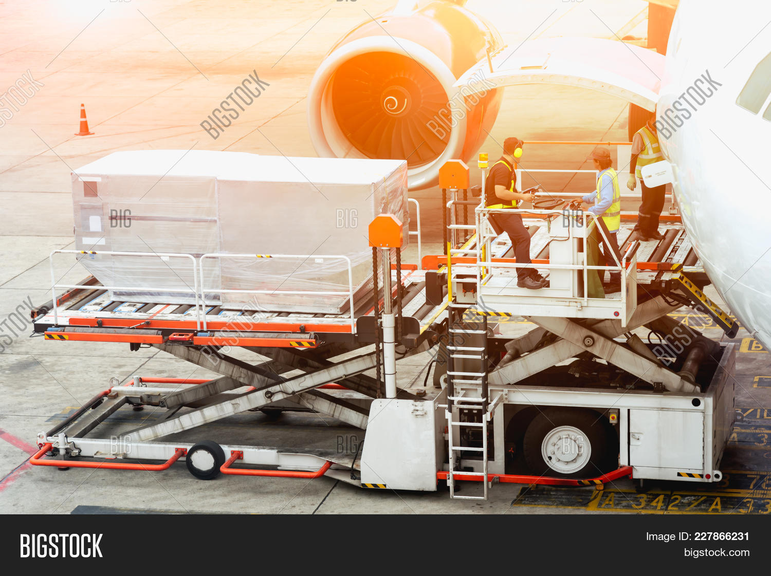 Air Freight Services Image Photo Free Trial Bigstock