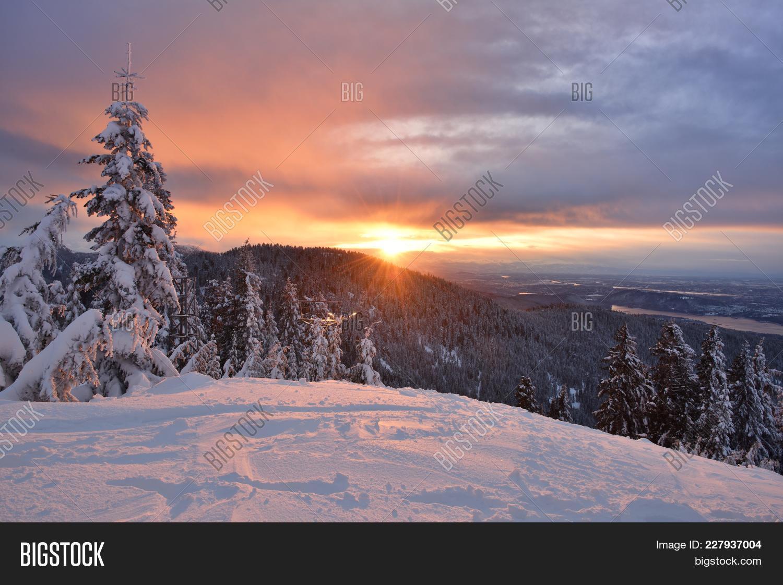 Grouse Mountain Winter Sunrise