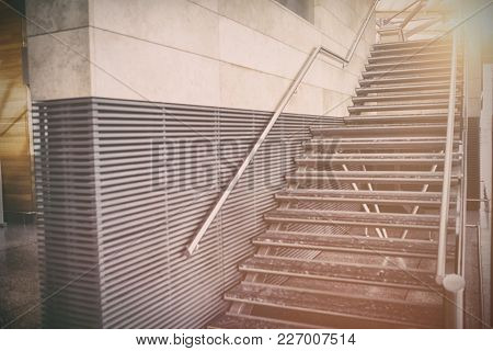 Staircase in supermarket