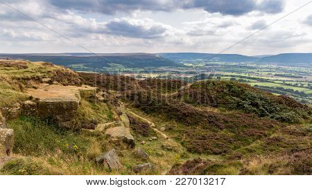 Landscape In The North York Moors