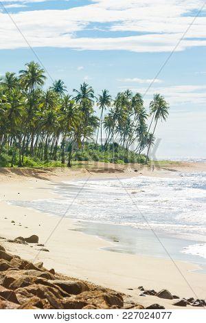 Sri Lanka, Asia, Rathgama - Marvelous Natural Beach Landscape Of Rajgama Aka Rathgama