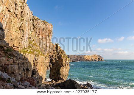 Pembrokeshire Coast, Wales, Uk
