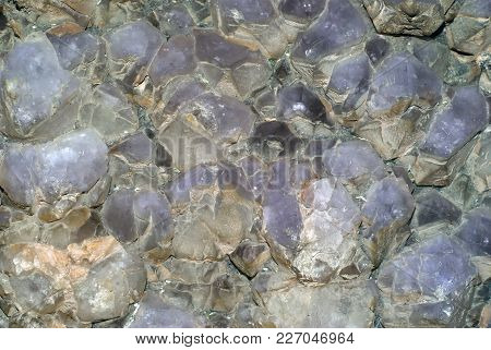 Background, Texture - Druse Of Untreated Amethyst Crystals