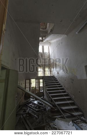 Abandoned Hospital Building Called Mombello