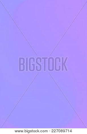 Vector Ultra Violet Holographic Background. Style 80s - 90s. Colorful Texture In Pastel,  Neon Color