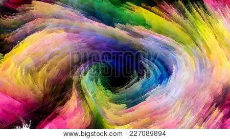Colorful Paint Stream