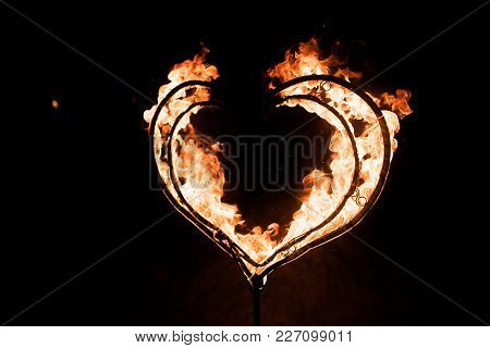 Burning Heart, In The Dark, For Any Purpose