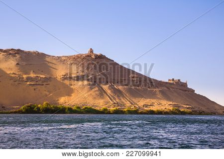 The Tombs Of The Nobles On The West Bank Of The Nile Near Aswan, Egypt