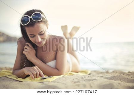 Connections at the beach