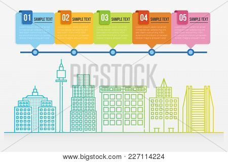 Cityscape Infographic Template