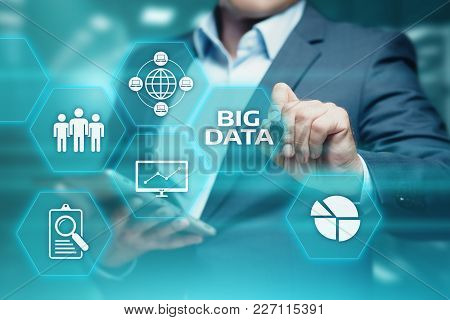 Big Data Internet Information Technology Business Information Concept.