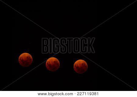 Melbourne Super Red Moon 2018 Total Lunar Eclipse