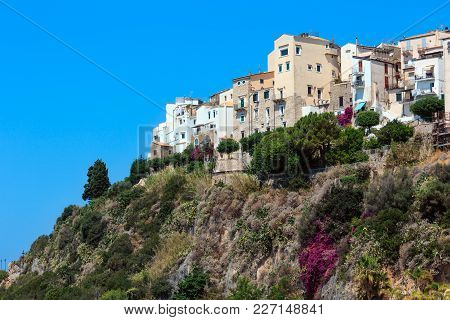 Sperlonga Town Summer View, Province Of Latina, In Lazio, Central Italy.