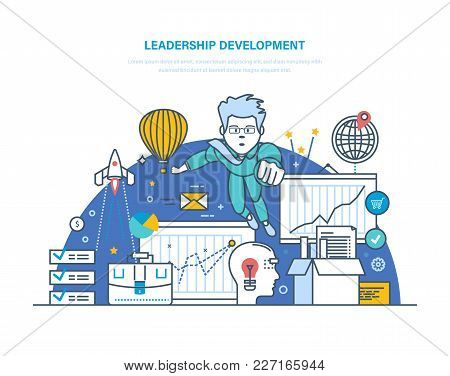 Leadership Development. Professional Development. Modernization Individual And Ethics, Improvement S